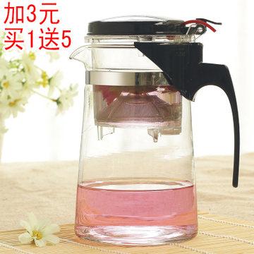 喜米飘逸玻璃泡茶杯茶壶